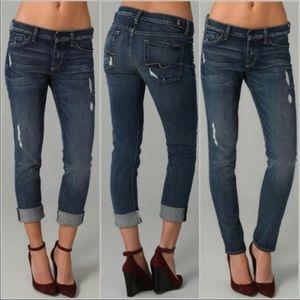 7 Seven For All Mankind Josefina Boyfriend Jeans